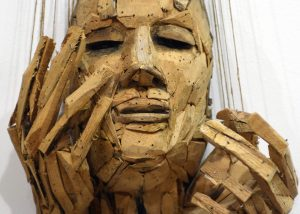 Artist Robert Greene Wood Sculpture