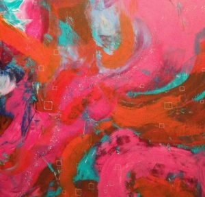 Oil and Cold Wax Painting by Diane Brown
